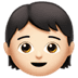 🧒🏻 Light Skin Tone Child Emoji on Apple Platform