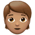 🧑🏽 Medium Skin Tone Person Emoji on Apple Platform