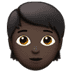 🧑🏿 person: dark skin tone Emoji on Apple Platform