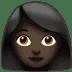 Woman: Dark Skin Tone