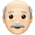 👴🏻 Light Skin Tone Old Man Emoji on Apple Platform