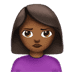 🙎🏾‍♀️ woman pouting: medium-dark skin tone Emoji on Apple Platform