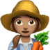 👩🏽‍🌾 woman farmer: medium skin tone Emoji on Apple Platform