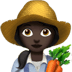 Woman Farmer: Dark Skin Tone