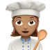 Medium Skin Tone Female Chef