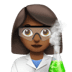 Medium Dark Skin Tone Female Scientist