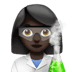 Dark Skin Tone Female Scientist