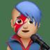 👨🏼🎤 man singer: medium-light skin tone Emoji on Apple Platform