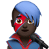 👨🏿‍🎤 man singer: dark skin tone Emoji on Apple Platform