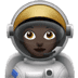 Dark Skin Tone Female Astronaut
