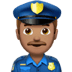 Medium Skin Tone Male Police Officer