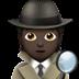 Detective: Dark Skin Tone