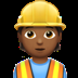 Construction Worker: Medium-dark Skin Tone