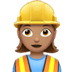 Woman Construction Worker: Medium Skin Tone