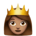 👸🏽 Medium Skin Tone Princess Emoji on Apple Platform