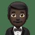 Dark Skin Tone Man In Tuxedo
