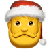 🎅 Santa Claus Emoji on Apple Platform
