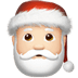 🎅🏻 Santa Claus: light skin tone Emoji on Apple Platform