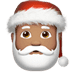 🎅🏽 Santa Claus: medium skin tone Emoji on Apple Platform