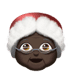 Dark Skin Tone Mrs. Claus