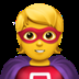 🦸 superhero Emoji on Apple Platform
