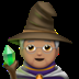 🧙🏽 Medium Skin Tone Mage Emoji on Apple Platform