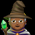 Medium Dark Skin Tone Mage