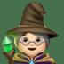 🧙🏻♀️ woman mage: light skin tone Emoji on Apple Platform