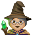 🧙🏼‍♀️ woman mage: medium-light skin tone Emoji on Apple Platform