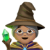 🧙🏽‍♀️ Medium Skin Tone Female Mage Emoji on Apple Platform