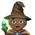 Medium Dark Skin Tone Female Mage