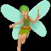 Medium Light Skin Tone Fairy