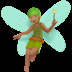 🧚🏽 fairy: medium skin tone Emoji on Apple Platform