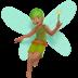Medium Skin Tone Fairy