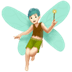 🧚🏻‍♂️ man fairy: light skin tone Emoji on Apple Platform