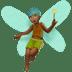 Medium Dark Skin Tone Male Fairy