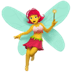 🧚♀️ woman fairy Emoji on Apple Platform
