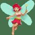 Medium Light Skin Tone Female Fairy