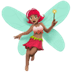 Woman Fairy: Medium Skin Tone