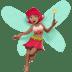 🧚🏽♀️ Medium Skin Tone Female Fairy Emoji on Apple Platform