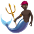 Merman: Dark Skin Tone