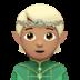 🧝🏽 Medium Skin Tone Elf Emoji on Apple Platform