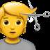 💇 person getting haircut Emoji on Apple Platform