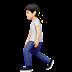 🚶🏻 person walking: light skin tone Emoji on Apple Platform