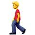 🚶‍♂️ Man Walking Emoji on Apple Platform