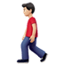 🚶🏻‍♂️ man walking: light skin tone Emoji on Apple Platform