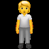 🧍 person standing Emoji on Apple Platform