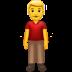 🧍♂️ man standing Emoji on Apple Platform