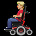 Man In Motorized Wheelchair: Medium-light Skin Tone