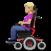 Woman In Motorized Wheelchair: Medium-light Skin Tone